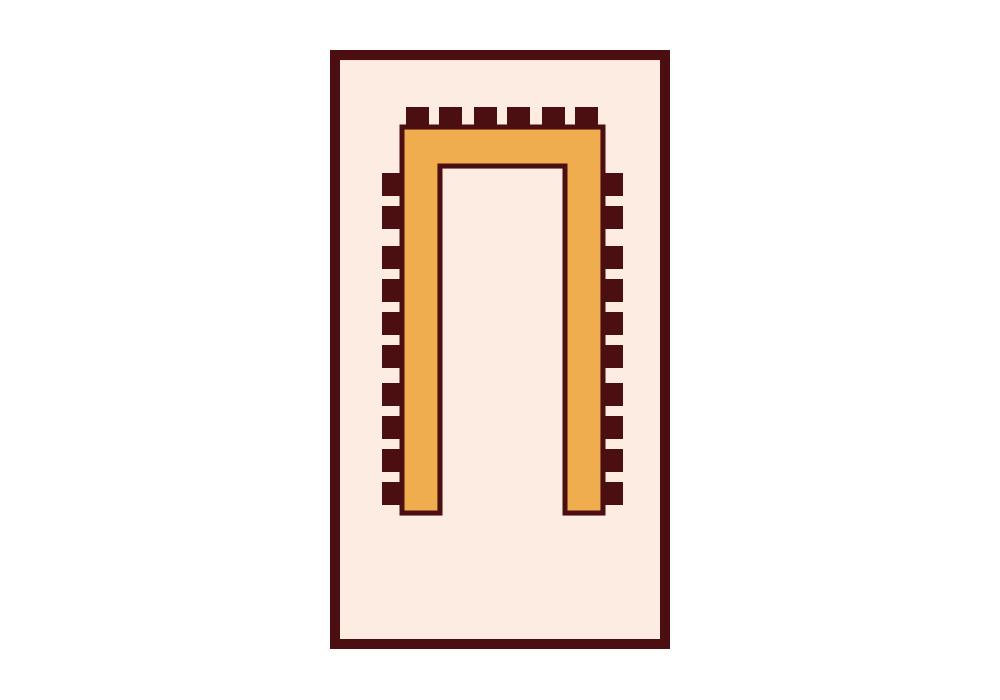 Granada Hotel Kecskemét - VIP Terem - U-alak